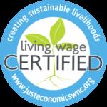 Just Economics Living Wage Certification logo