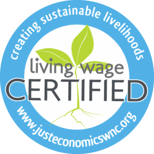 Just Economics Living Wage Certification logo