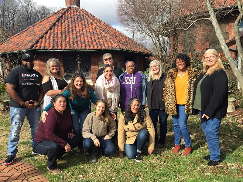 Just Economics group staff photo